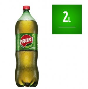 Guaraná Fruki 2 Litros