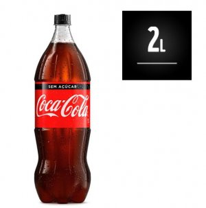 Coca Cola 2 Litros Zero