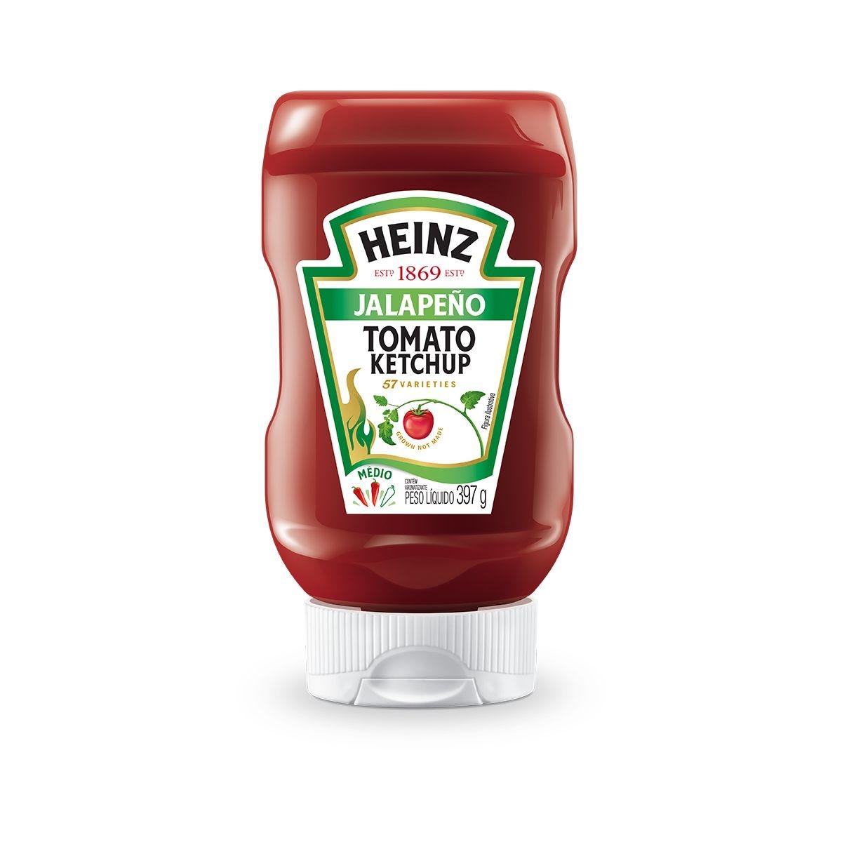 Ketchup Sabor Japaleño Heinz