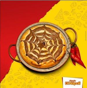 Pizza Broto Chocolate Assado com Pimenta