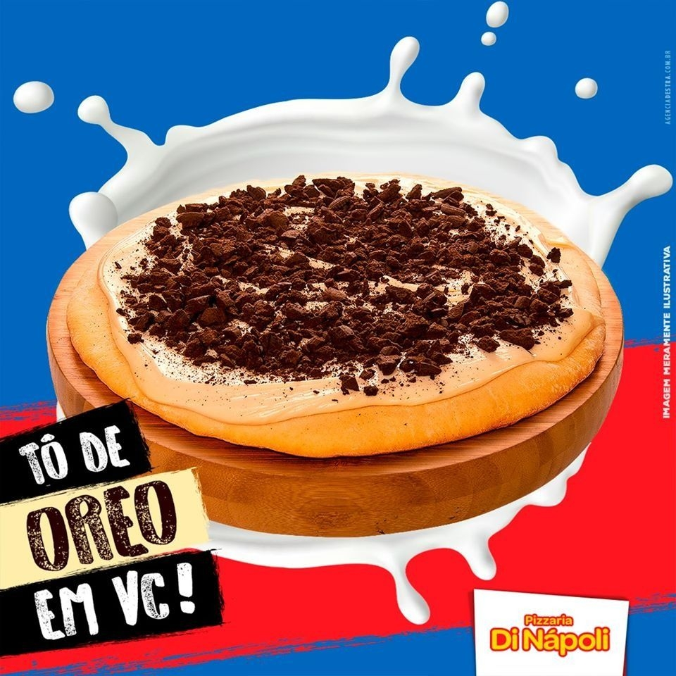 Pizza Broto - Oreo