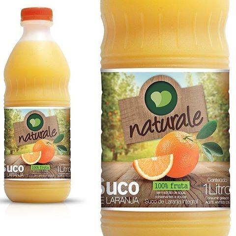 Suco Natural 100% Laranja 1lt