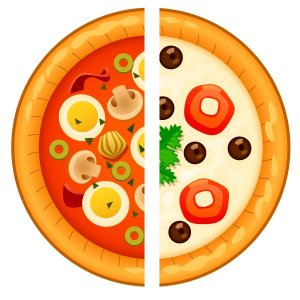 Pizza broto c/ borda